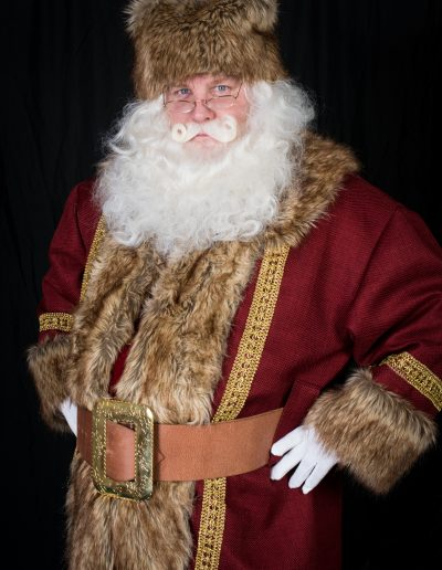 Father Christmas red and brown (22)