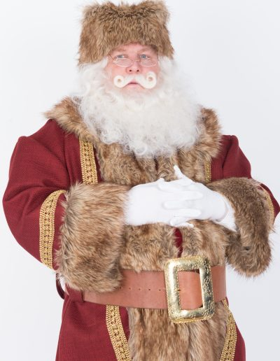 Father Christmas red and brown (3)
