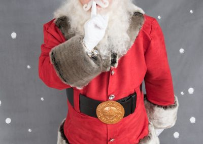 Red suede with Grey Fur Santa suit (12)